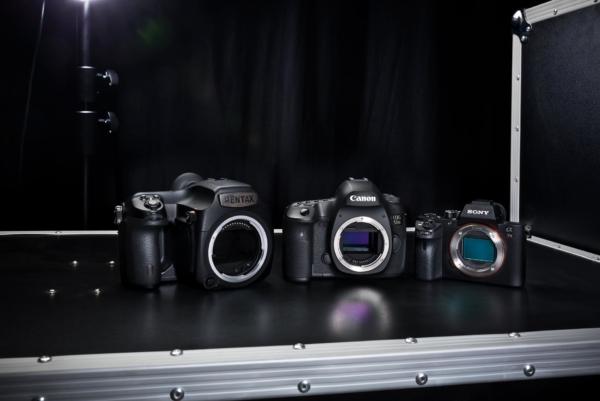 Produktfotografie von Pentax, Sony & Canon