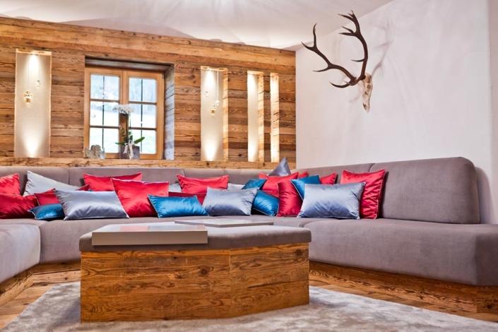Interieur Schreiner Holz Wohnzimmer