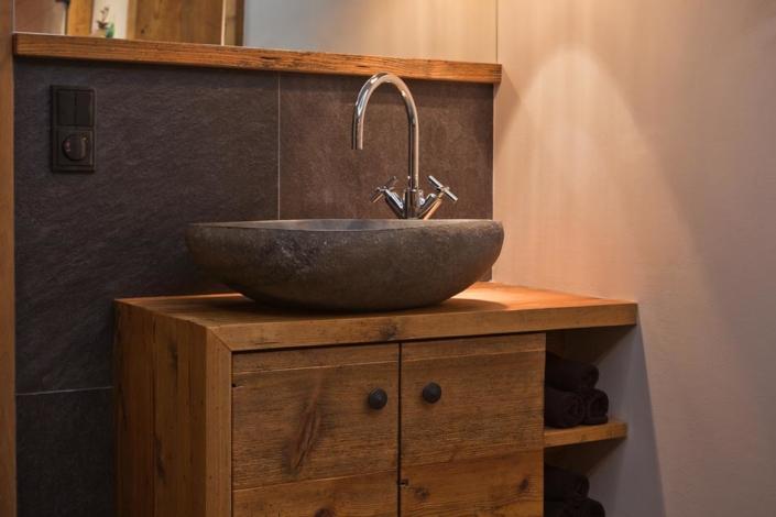 Interieur Schreiner Holz Bad