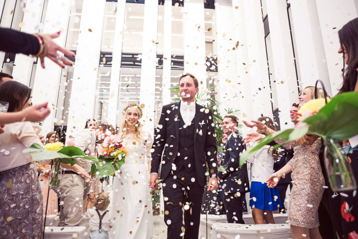 Hochzeitsauszug