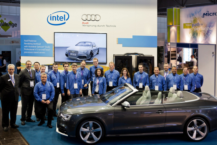 Intel Audi Gruppenfoto
