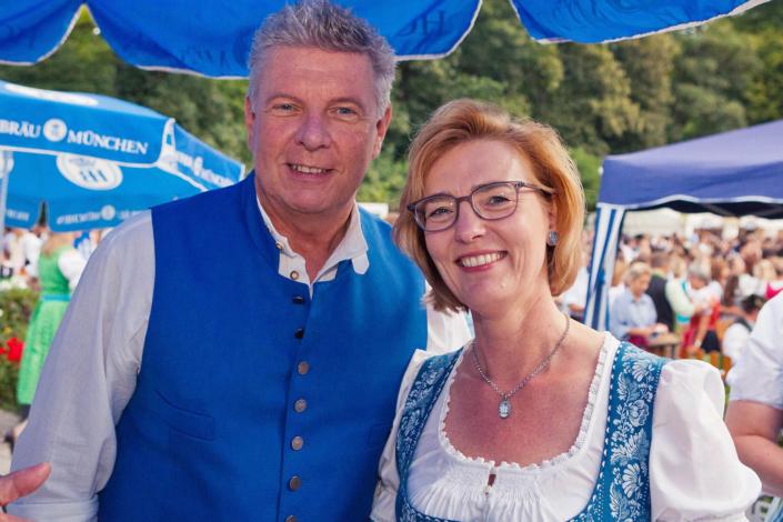 Dieter Reiter auf dem Kocherlball