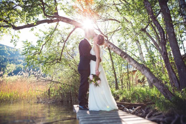 Stimmungsvolle Hochzeitsfotografie