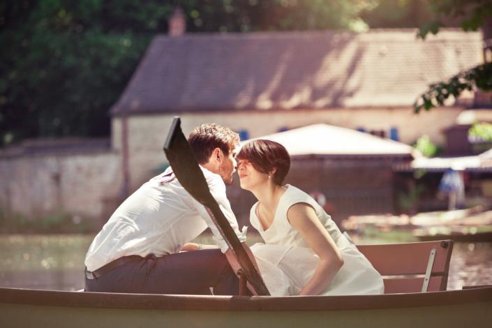 Liebe im Boot