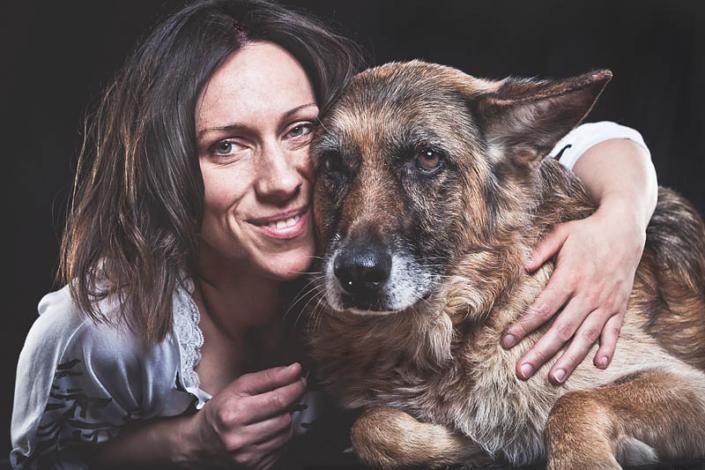 Hunde Portrait Kelly