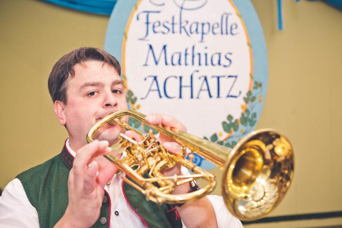 Trompeter Mathias Achatz
