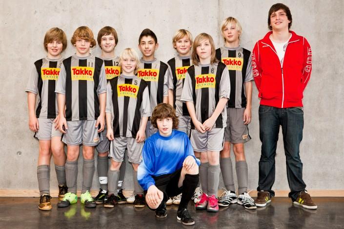 Fußballer Mannschaftsfotos