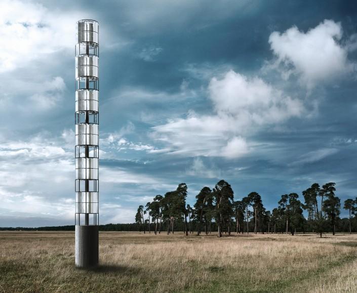 CGI Windkraftanlage