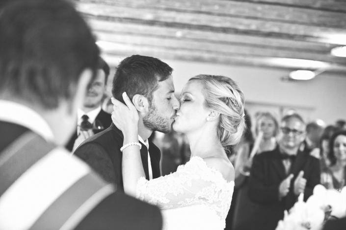Hochzeitsbilder der Zeremonie