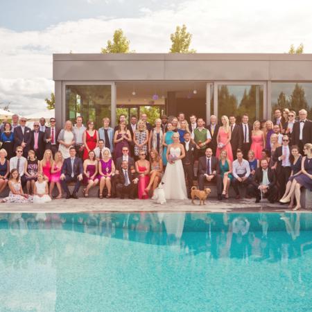 Hochzeitsfotos Gruppenbild