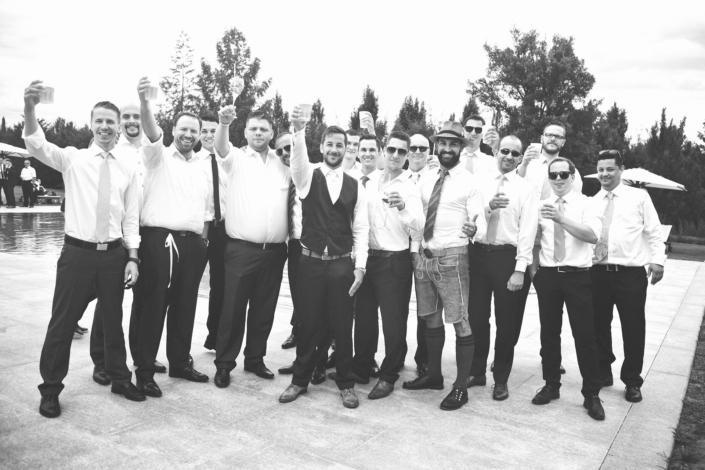 Hochzeitsfotos die Männer