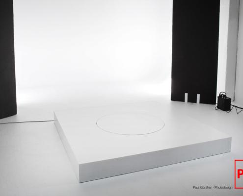 Drehteller für 360 Grad Aufnahmen