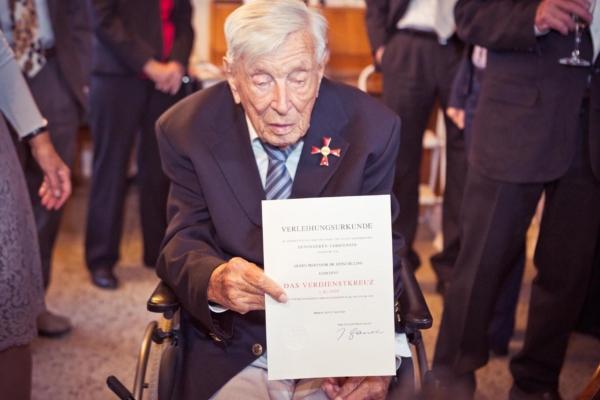 Bundesverdienstkreuz - Prof. Dr. Heinz Billing