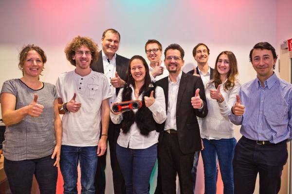 Roboception Mitarbeiter Team