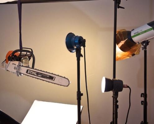 Lichtset Kameratest