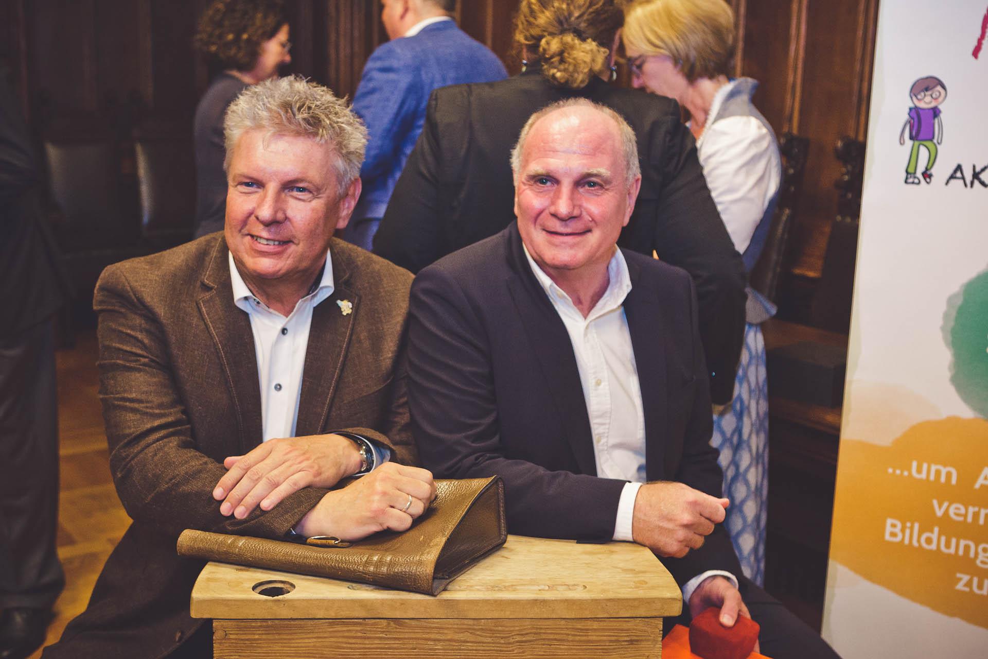 Uli Hoeneß und Dieter Reiter