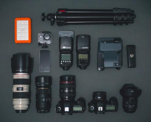Meine Ausrüstung für die Hochzeitsfotografie