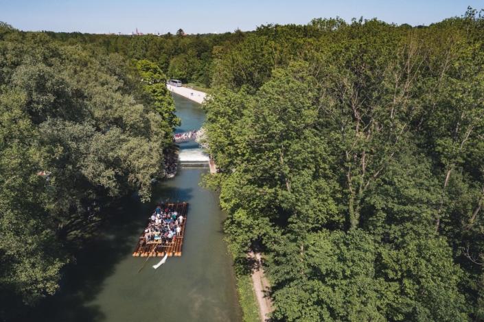 Floßfahrt Isar